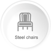Banquet steel chair series